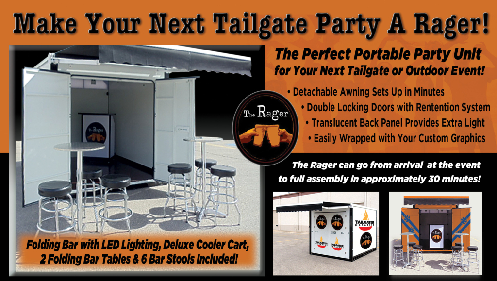 The Rager VIP Tailgate Cabanas